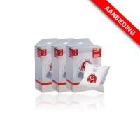 Stofzak voor Miele stofzuigers - F/J/M HyClean - 3x4 voordeelpak