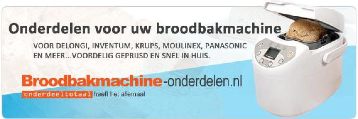 Broodbakmachine-onderdelen.nl