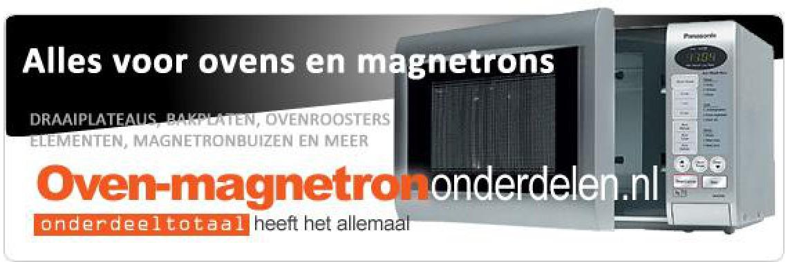 Oven-magnetrononderdelen.nl
