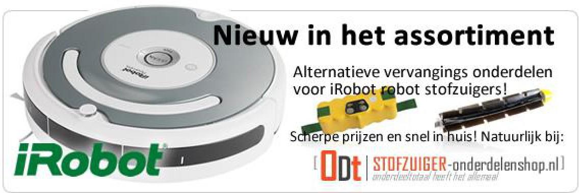 iRobot onderdelen voor uw robot stofzuiger
